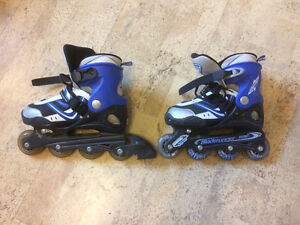 Adjustable roller blades size 4-7