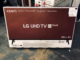 LG 43 inch smart