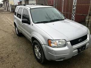 2003 FORD ESCAPE LIMITED $750 AS IS