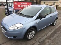 2007 FIAT PUNTO 1.2 ACTIVE, WARRANTY, NOT CORSA CLIO 207 POLO YARIS AYGO FIESTA