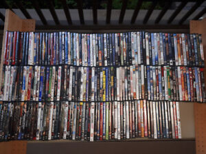 LARGE DVD LOT, OVER 200 DVDs only $300 !!