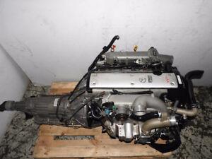 JDM Toyota 1JZ GTE VVTI 2.5L Front Sump Engine Auto Transmission