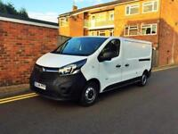 2014 Vauxhall Vivaro 1.6CDTi ( 115PS ) 2900 L2H1 ONLY 33K 1 OWNER FROM NEW