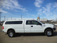 2007 Ford F-150 EXTCAB SPORT 4X4-WITH CANOPY----NEW TIRES
