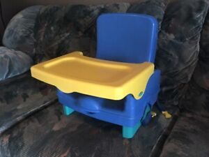 Portable high chair booster seat