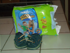 Little Swimmers and Baby Boy Sandals: Package Deal