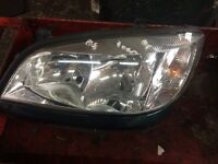 Vauxhall Zafira Headlights