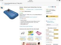 Kampa Airlock toddler/baby camping airbed