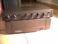 Hafler DH-220 Power Amplifier + Hafler DH-110 Preamplifier