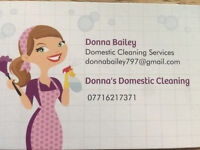 Donna's Domestic Cleaning Services
