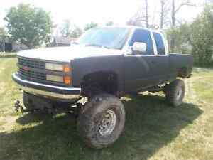1 TON CHEVY MUD TRUCK FOR SALE OR TRADE