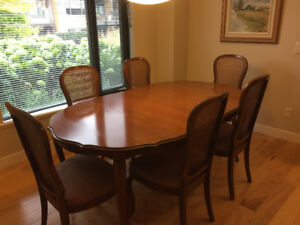 Cherry Gibbord Dining Room Table Buffet Will Sell Seperate