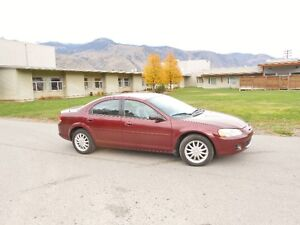 2002 Chrysler Sebring LX :  2.7L -V6 engine, Sedan, 219K