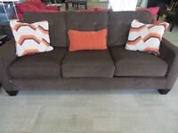 ASHLEY BROWN SOFA/LOVE (# 51122939