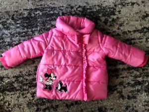 18-24 month size girl Disney Minnie Mouse winter coat