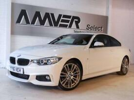 2016 16 BMW 4 SERIES 2.0 420D M SPORT 2D 188 BHP DIESEL