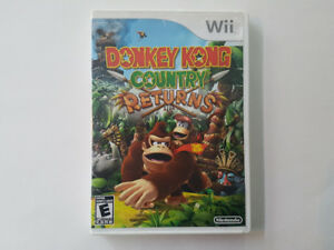 Donkey Kong Country Returns pour *Nintendo Wii*