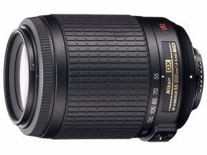 Nikon Nikkor 55-200mm f/4-5.6G ED IF AF-S DX VR Lens