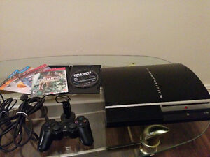 Selling 80GB PS3 Console, Controller, Mic, & 5 Games