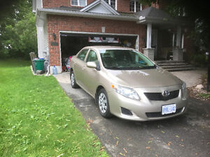 2010 Toyota Corolla CE Sedan in Excellent Condition