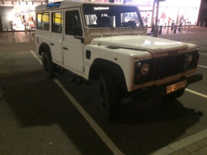 1996 Land Rover Defender 110 LHD Wagon