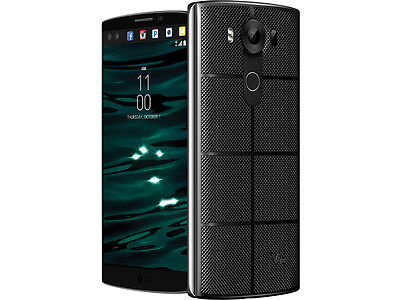 Unlocked LG V10 H900 - 64GB 4G LTE (AT&T, T-Mobile Metro) Phone - Space Black