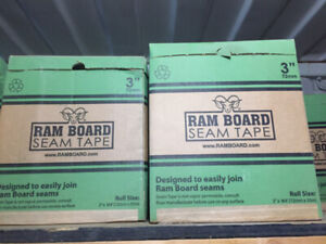"""Rather trade than chuck it out!! 3"""" Ram Board Seam Tape Lot"""