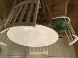 IKEA Kitchen (nook) table and 4 chairs