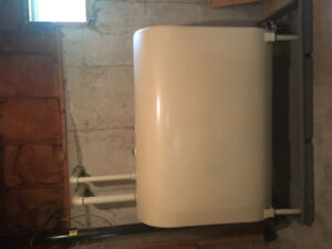 Oil tank double hull -perfect condition