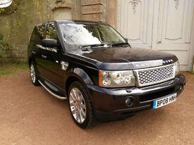 Land Rover Range Rover Sport 3.6TD V8 auto 2008MY HSE
