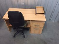 Desk and chair, Free delivery
