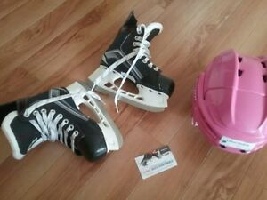 Skates and Helmet for Girls