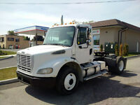 2007 Freightliner M2 Single Axle Day Cab with Wetline