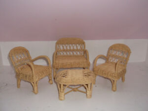 Wicker Furniture for Dolls
