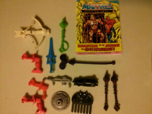 Maters of the Universe (MOTU)  He-Man weapon lot $30