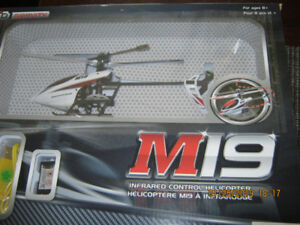 die cast remote helicopter mini cooper Budweiser truck  ford