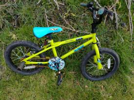 Bmx bike 16Inc wheels