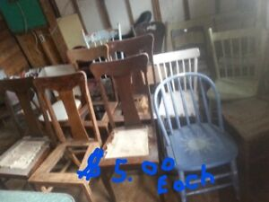 16  Antique Chairs