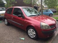 2001 Renault Clio 1.2 expression with FSH