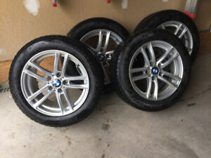 Winter mags &tires BMW
