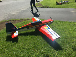 RC Airplane Extra 24% Extra - Moki 2.1