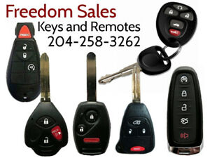 Replacement Car Keys Remotes - Quality Guaranteed! Cut & Program