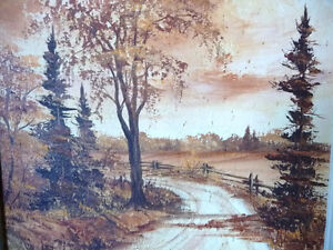 3 Original Oil Paintings from a Series by O.J. Coghlin Stratford Kitchener Area image 6