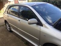 Toyota Corolla 1.4 petrol with low mileage £3800