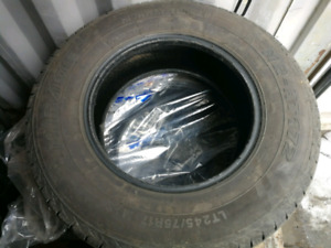 Great used Mirage 245 75 17 all season tires