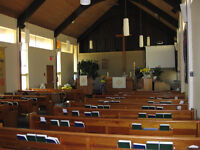 CHURCH SANCTUARY For Rent in South-East Winnipeg