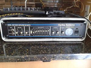Hartke Model 2000 200 Watt Bass Amp