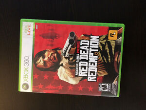 Red dead redemption xbox 360 10$