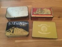 Old Tobacco Tins 1930s-1950s ?