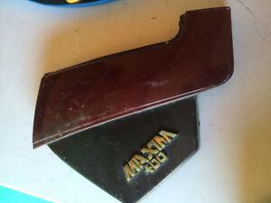 1983 1983 Yamaha 400 Maxim Sidecover